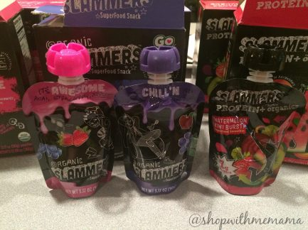Organic Slammers healthy snack for kids and adults giveaway revivew