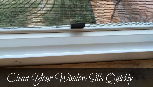 Clean Your Window Sills Quickly #GooGone