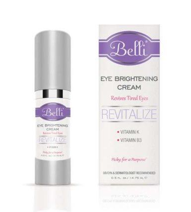 Eye Brightening Cream belli skincare review