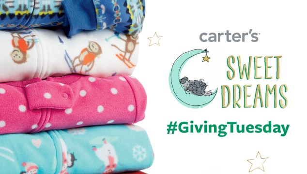 Carter's Launches National Giving Tuesday Campaign! #GivingTuesday