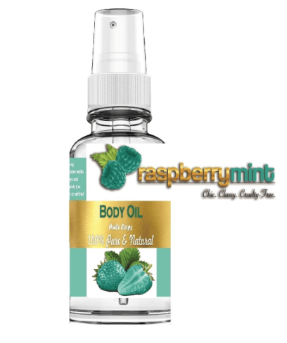 Argan & Jojoba Body Oil - Strawberry