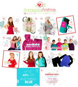 Limeapple Christmas 12 Days Of Deals!