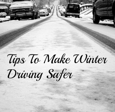 Tips To Make Winter Driving Safer