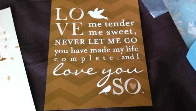 Elvis Love Me Tender Nursery Prints