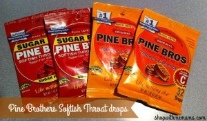 Pine Brothers Softish Throat drops
