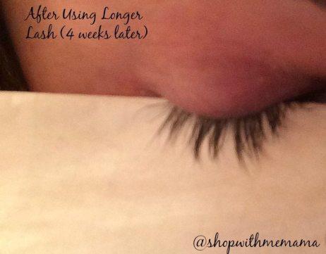 Longer Lash After Picture