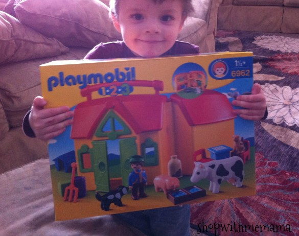 PLAYMOBIL introduces the 1.2.3. My Take Along Farm