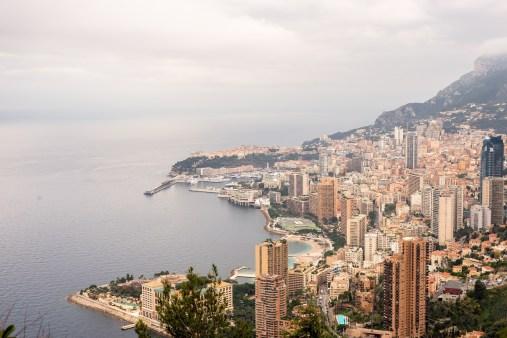 The Grand Corniche, From Nice to Monaco