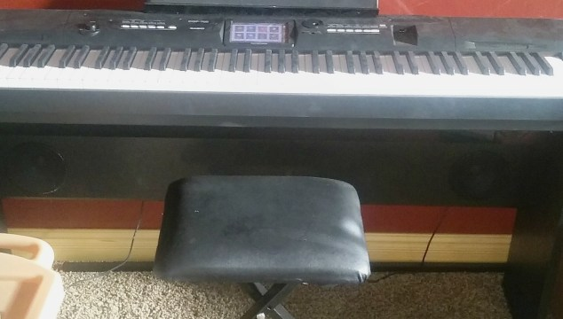 Casio's Compact Grand Piano Is Awesome!