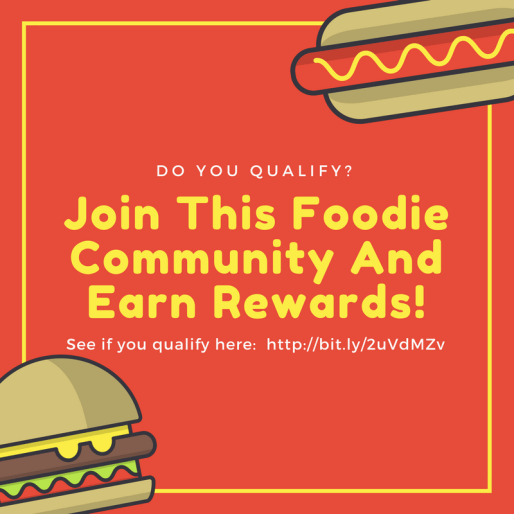 Join This Foodie Community And Earn Rewards!
