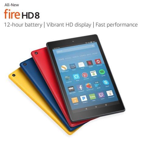 Kindle Fire HD8 on sale