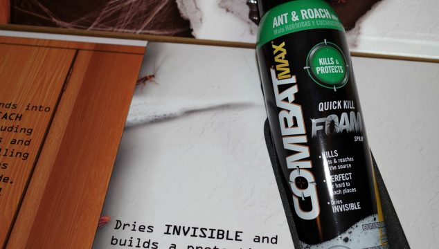 Control Those Insects With Combat Max Ant & Roach Killing Foam Spray