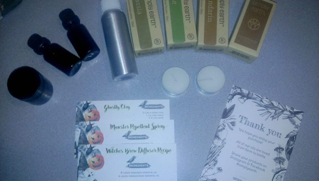 Create Some Halloween Fun With Your Simply Earth Essential Oils Recipe Box! (Giveaway)