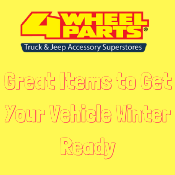 Great Items to Get Your Vehicle Winter Ready