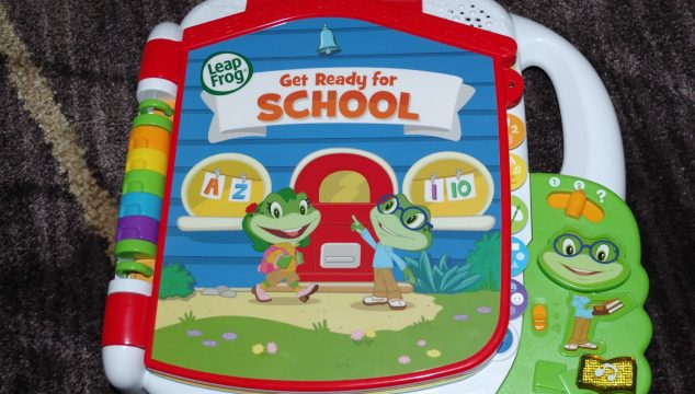 Tad's Get Ready for School Book By LeapFrog (Giveaway)