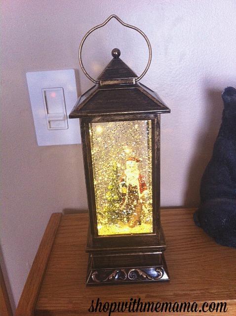LED Lantern Christmas Snow Globe From Apollo Box