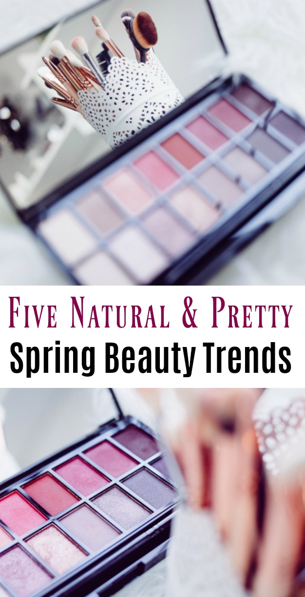 Five Natural & Pretty Spring Beauty Trends