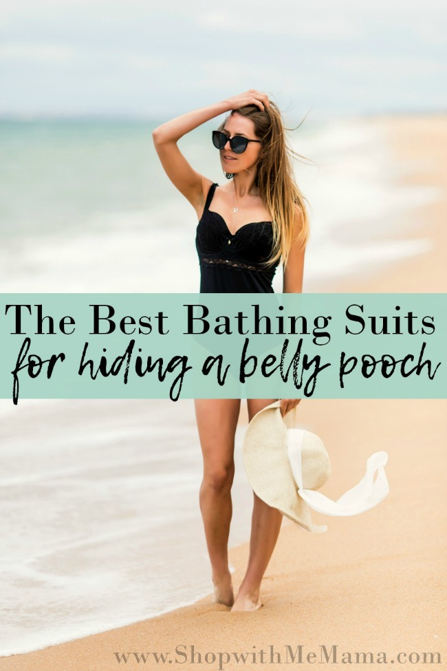 65a09a00f46e3 4 Swimsuits To Hide Belly Pooch - Shop With Me Mama