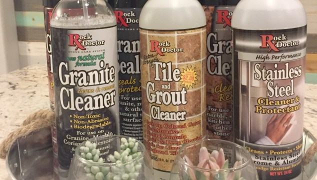 Rock Doctor Cleaner Products For Granite And Stainless Steel (Giveaway)