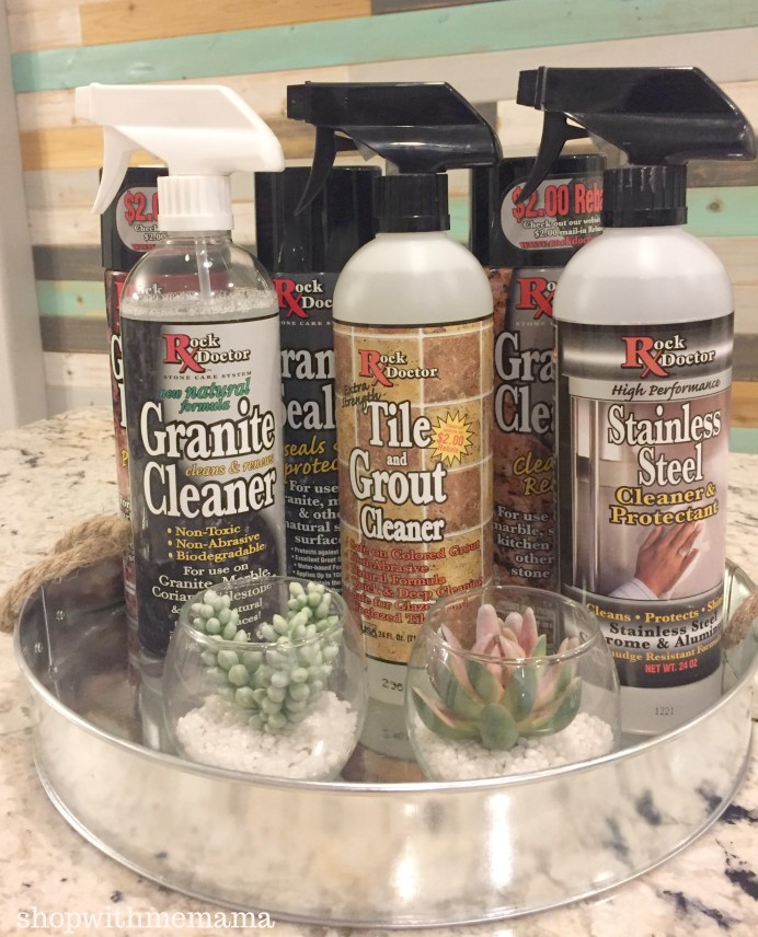 Rock Doctor Cleaner Products For Granite And Stainless Steel