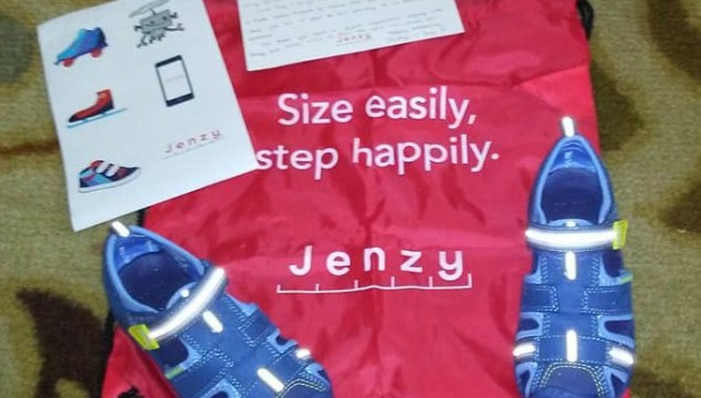 Buy Perfectly Fitting Shoes For Your Kids with The Jenzy App! (Giveaway)