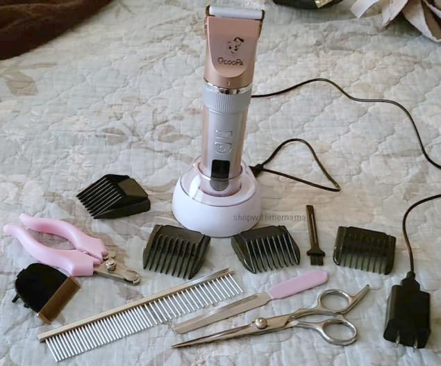 Low Noise Dog Grooming Kit