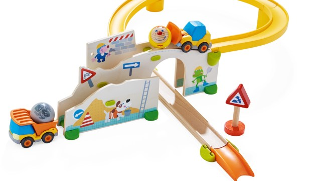 Construction Site Set With Toy Trucks (Giveaway)