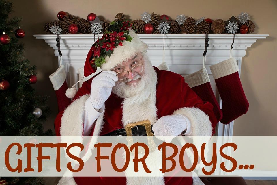 Christmas Presents For Boys
