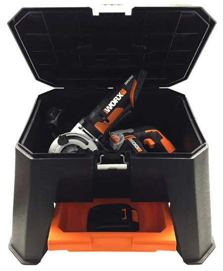 WORX® Storage Step Stool