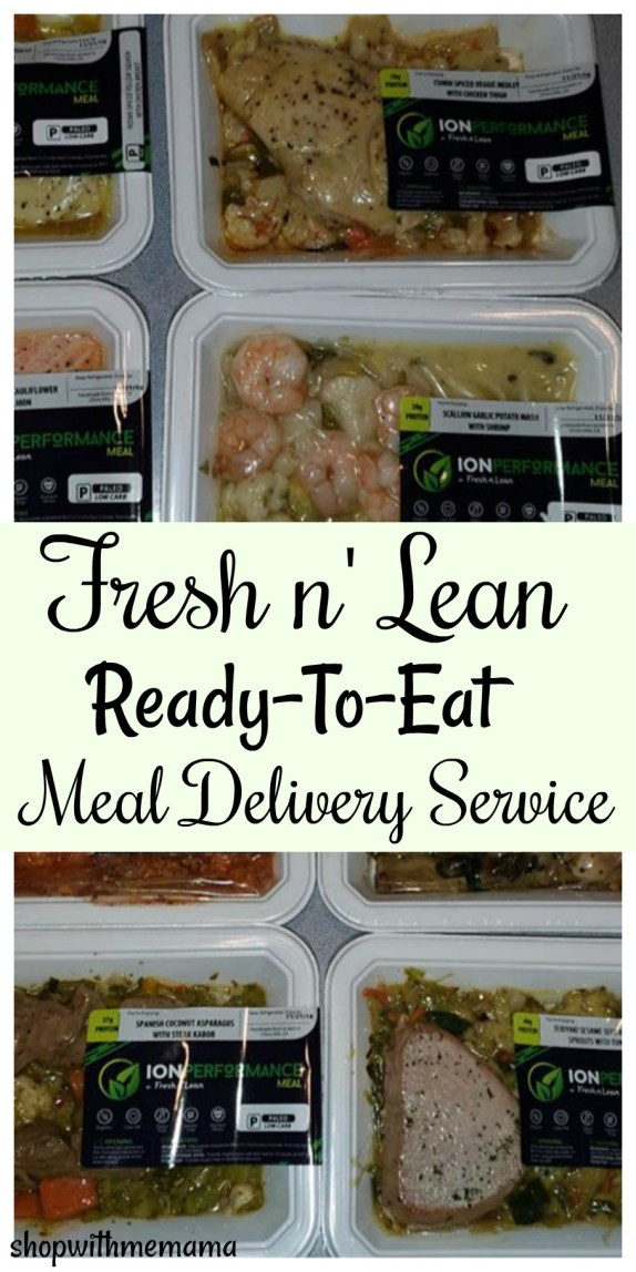 Fresh n' Lean Ready-To-Eat Meal Delivery Service