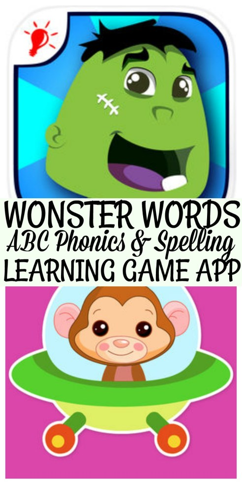 Wonster Words ABC, Phonics And Spelling Educational Game