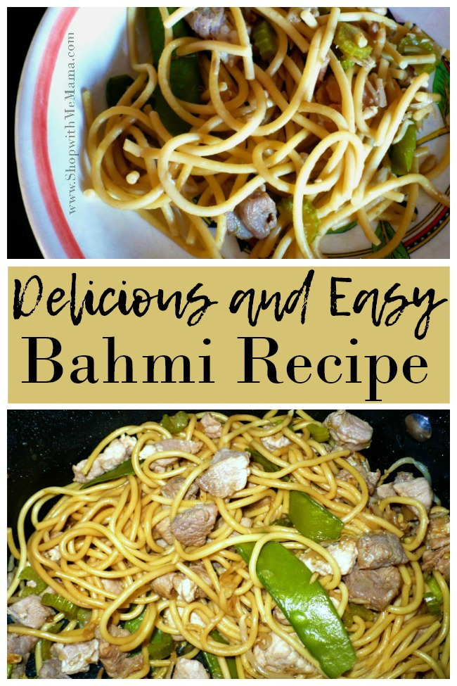 Bahmi Goreng, an Indonesian stir fry noodle dish, is a family favorite recipe from my husband's grandparents. It's so delicious and easy to make!