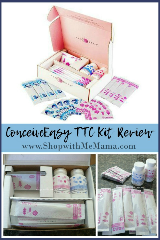 Trying to conceive? Check out my experience and review of The Fertibella ConceiveEasy TTC Kit System and see what worked well and what didn't!