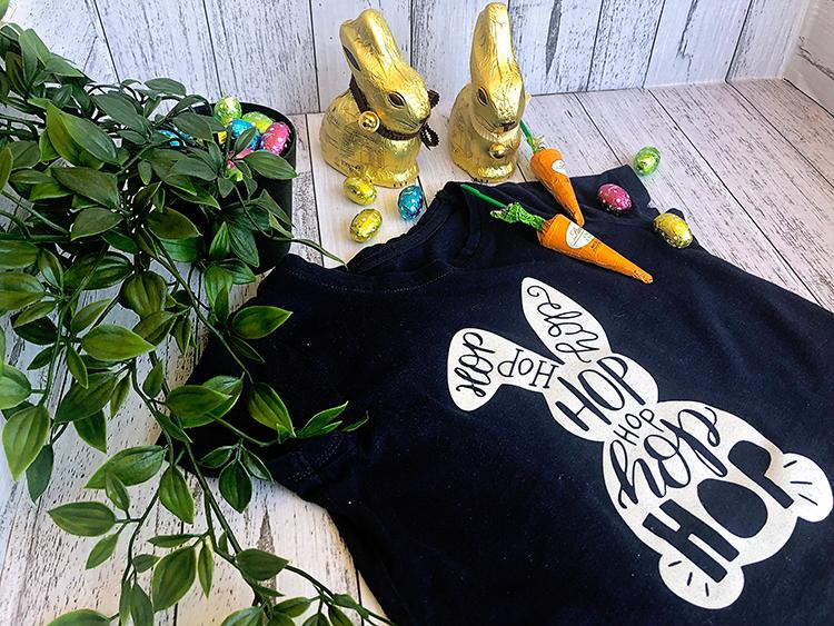 Make Your Own Custom Easter Bunny T-Shirts