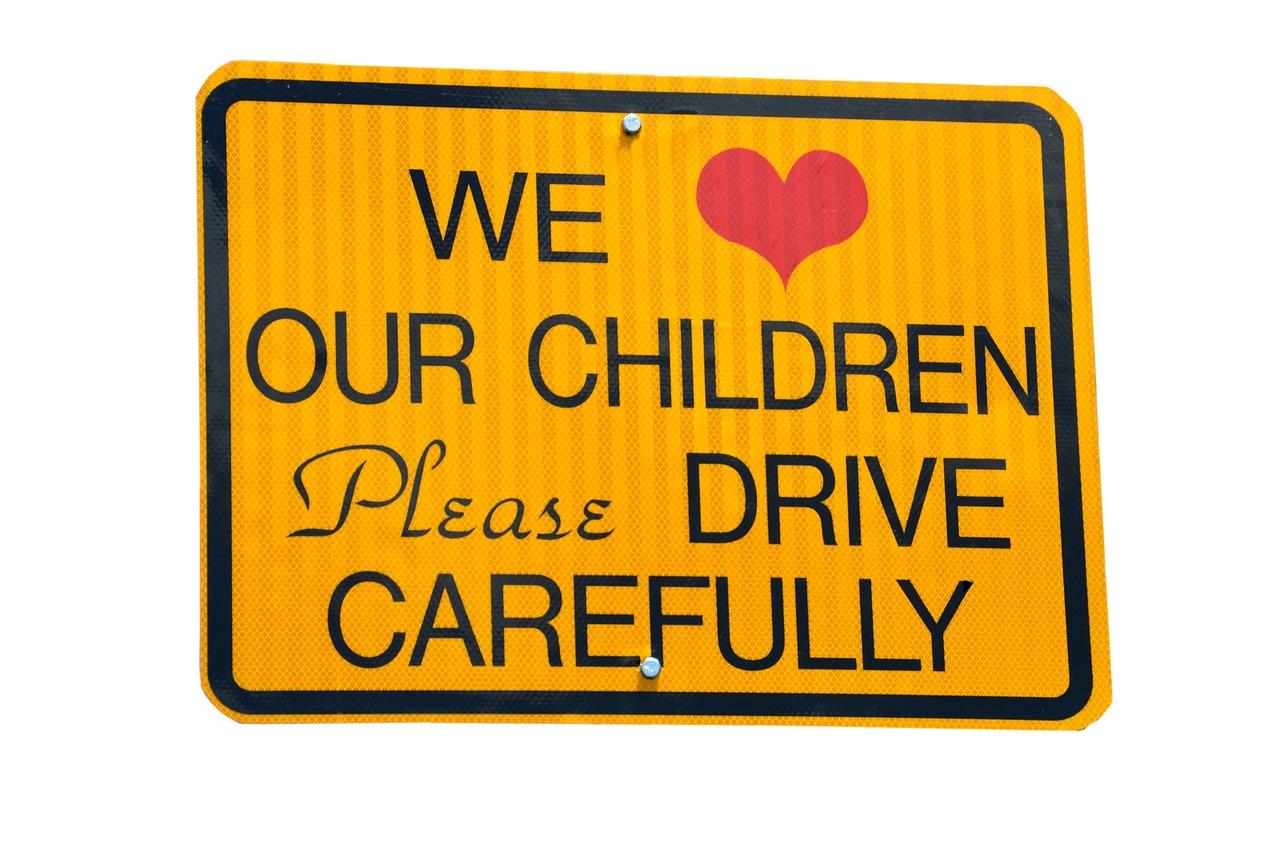 safe driving around kids