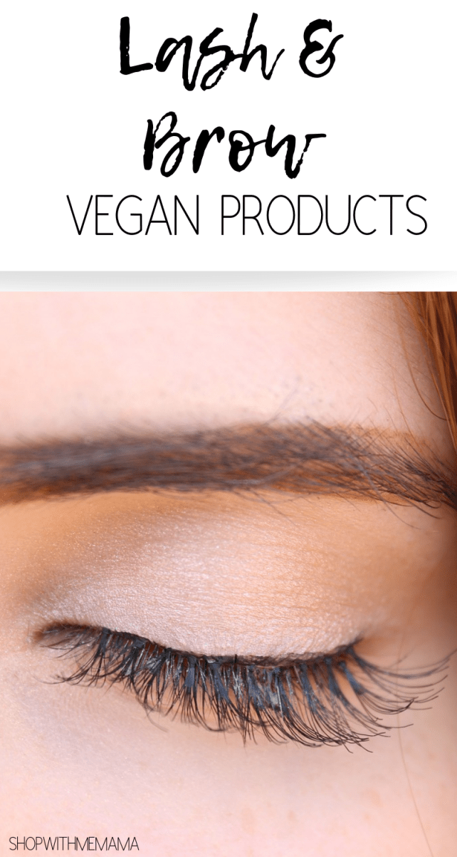 LASH AND BROW VEGAN PRODUCTS