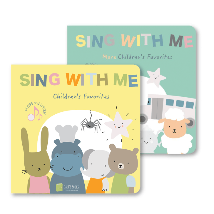 sing with me musical baby books