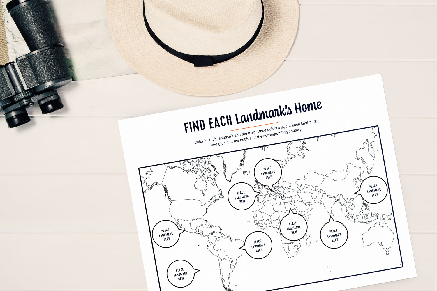 Free Printable Geography Worksheets And Games