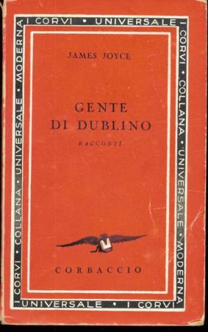 Prima edizione italiana di Gente di Dublino anno 1933