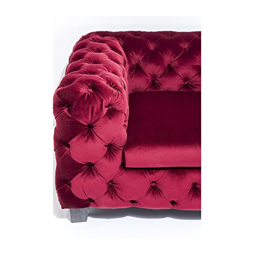 3-Sitzer Chesterfield Sofa My Desire Polsterfarbe: Rot