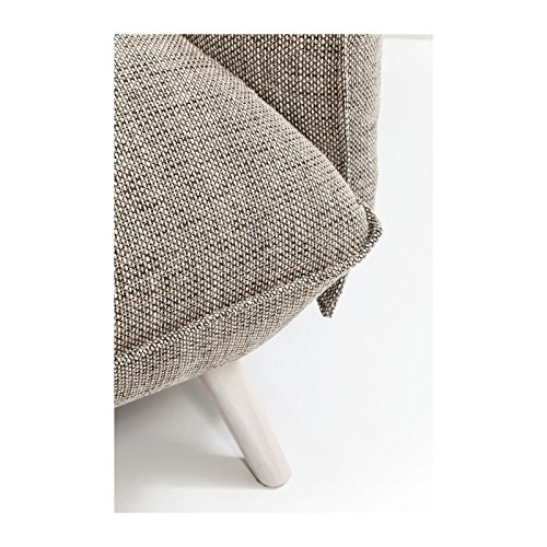 Kare Design – Sofa 3 Sitzer Stoff beige Molly Cliff