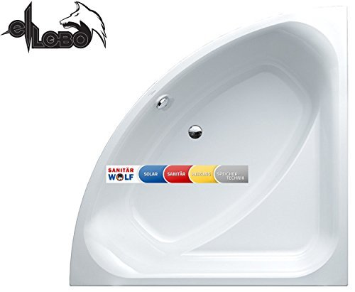 Villeroy&Boch Eck-Badewanne weiss 1400 x 1400 mm