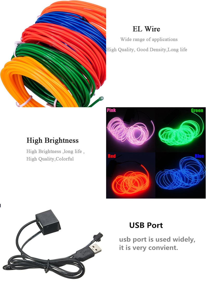 Flexible Neon Strip Lighting