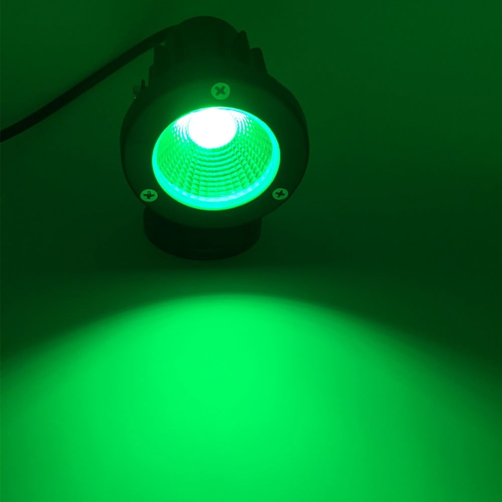 Black Aluminum Lawn Lamp