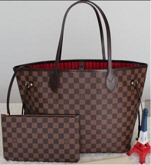 Luxury Leather Handbags Women Bags Designer Brand Women's Shoulder Bags Large Capacity Ladies Hand Bags Tote L261