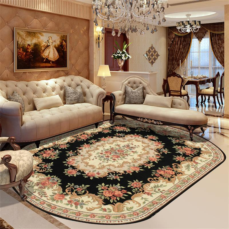 Wilton Oval Rugs And Carpets For Home Living Room Europe