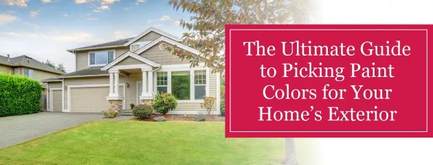 Best Exterior Painting Colors For Your Home