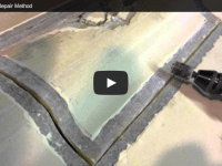 Sunfish Hull Repair – Shoreline Method