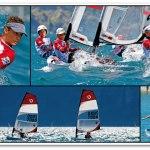 Racing O'Pen Bic Sailboats