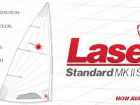 Laser Mark II Sail Now Class-Legal